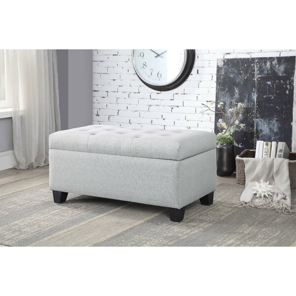 Keithsburg Upholstered Storage Bench by Charlton Home
