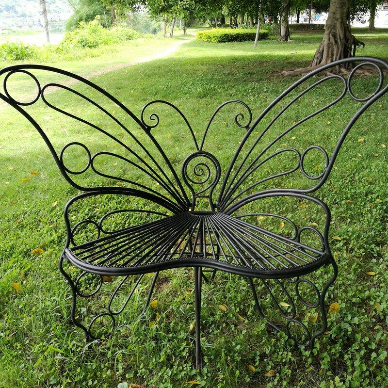 Genial Butterfly Metal Garden Chair