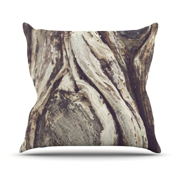 Bark Outdoor Throw Pillow by East Urban Home
