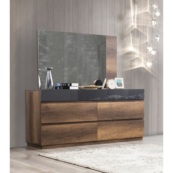 Deals Price Leflore 7 Drawer Double Dresser