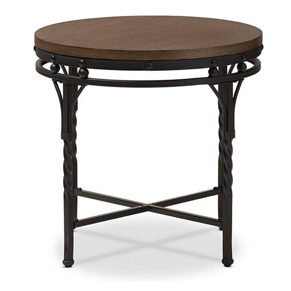 Gwin End Table by Fleur De Lis Living