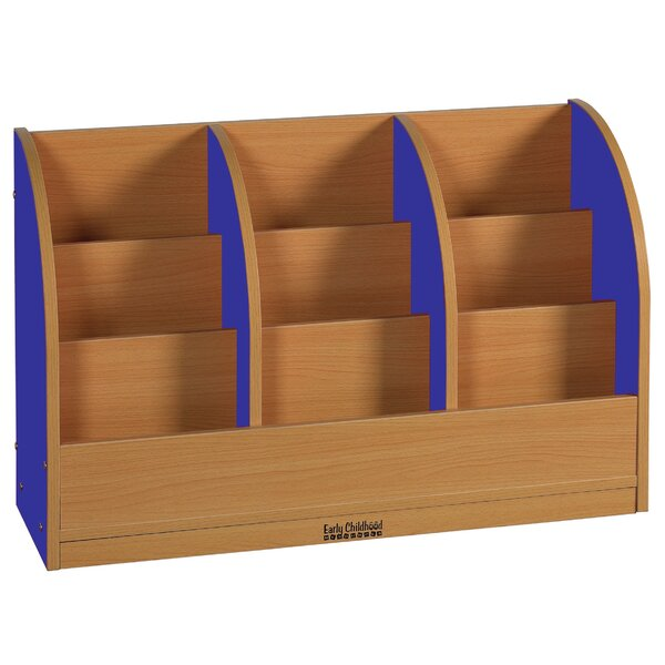 Toddler 9 Compartment Book Display by ECR4kids
