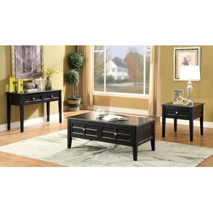 Lochleven Transitional 3 Piece Coffee Table Set by Winston Porter