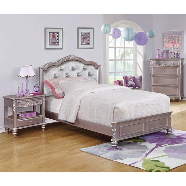 Escalante Upholstered Standard Bed by Harriet Bee