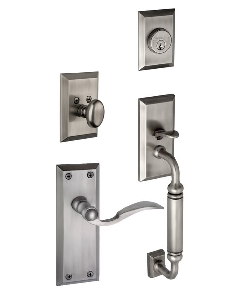 Fifth Avenue C-Grip Right Hand Door Lever by Grandeur