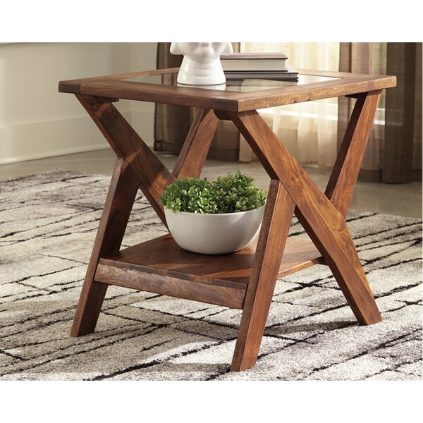 McAlester End Table By Foundry Select