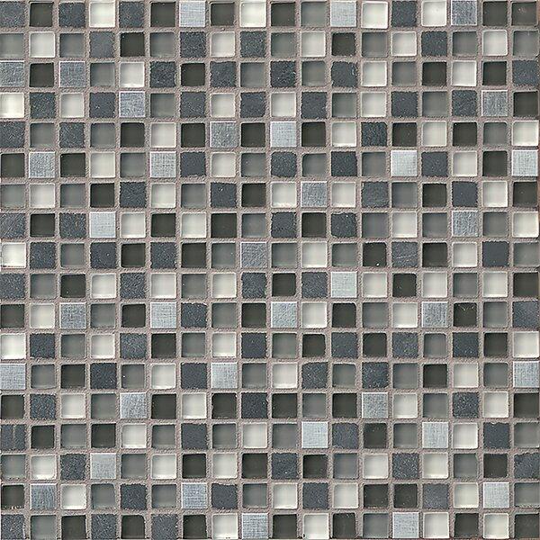 Queenstown 12 x 12 Stone Mosaic Tile in Ashton by Grayson Martin