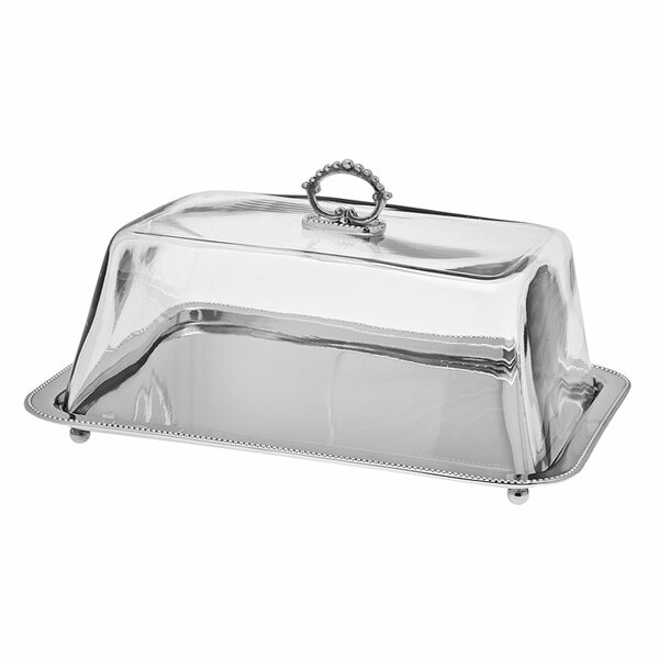 Rectangle Serving Tray by Godinger Silver Art Co