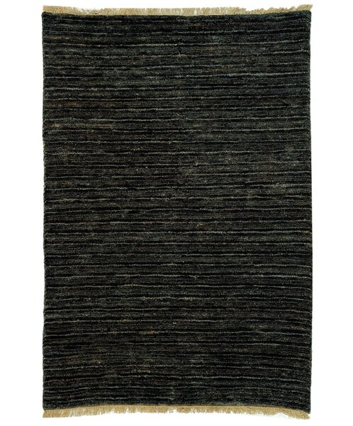 Ibrahim Charcoal Area Rug by World Menagerie