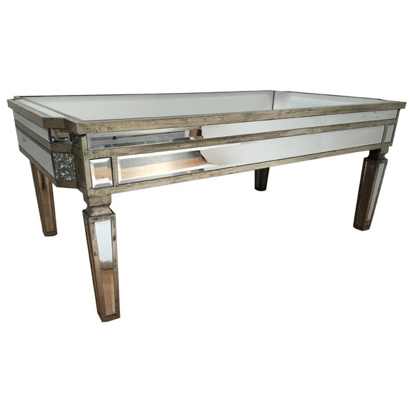 Alterton vintage mirrored coffee table reviews wayfair for Wayfair mirrored coffee table