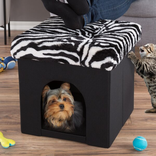 Pet House Ottoman with Storage by Petmaker