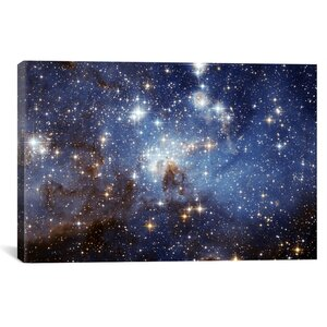 LH-95 Stellar Nursery Graphic Art on Wrapped Canvas by iCanvas
