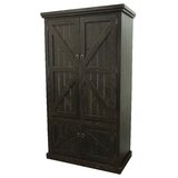 Kellogg Rustic Double Door Armoire by Union Rustic