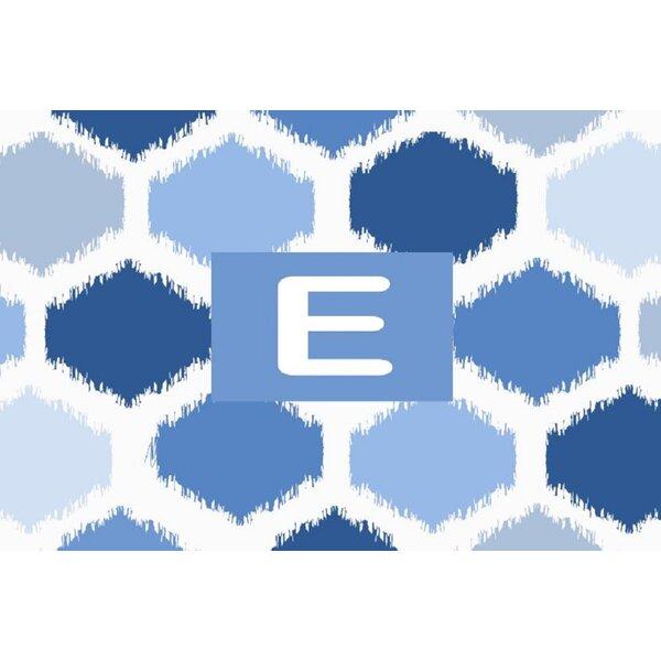 Batu Blue Area Rug by Ebern Designs