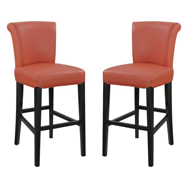 Crabb 30 Bar Stool (Set of 2) by Red Barrel Studio