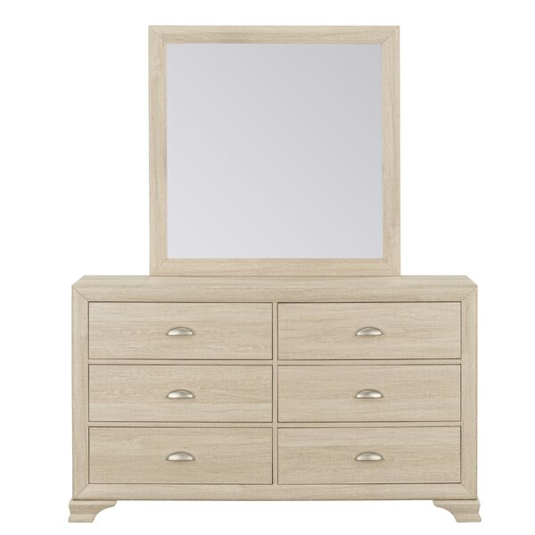 Roca 6 Drawer  Bachelors Chest by Highland Dunes
