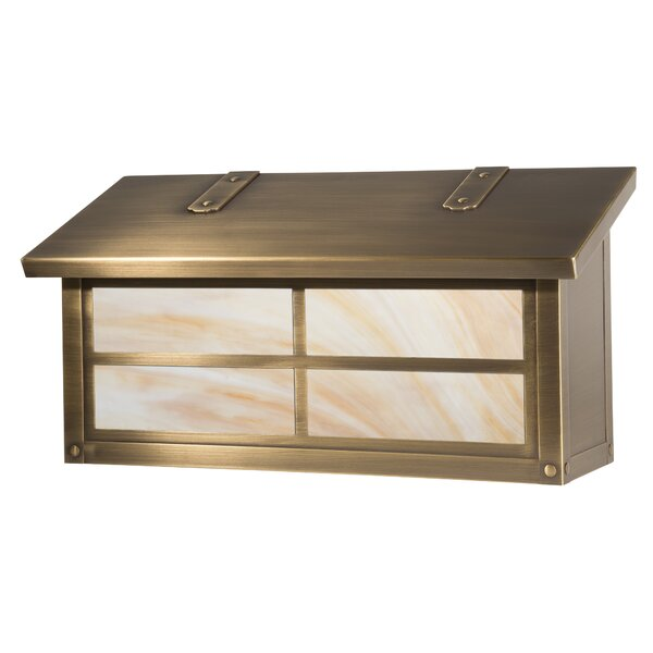 Window Wall Mounted Mailbox by America's Finest Lighting Company