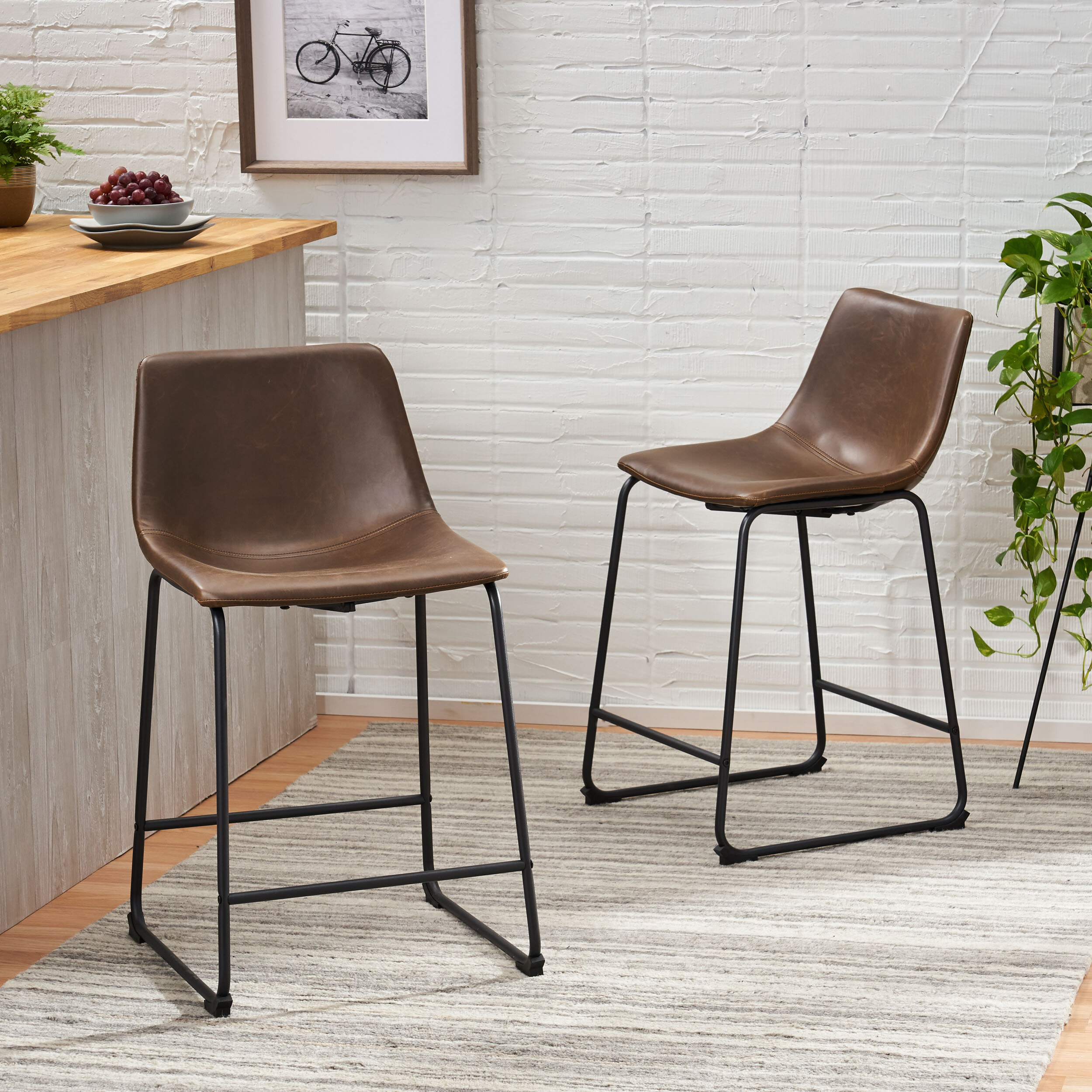 Awesome Liara 24 Bar Stool Ibusinesslaw Wood Chair Design Ideas Ibusinesslaworg