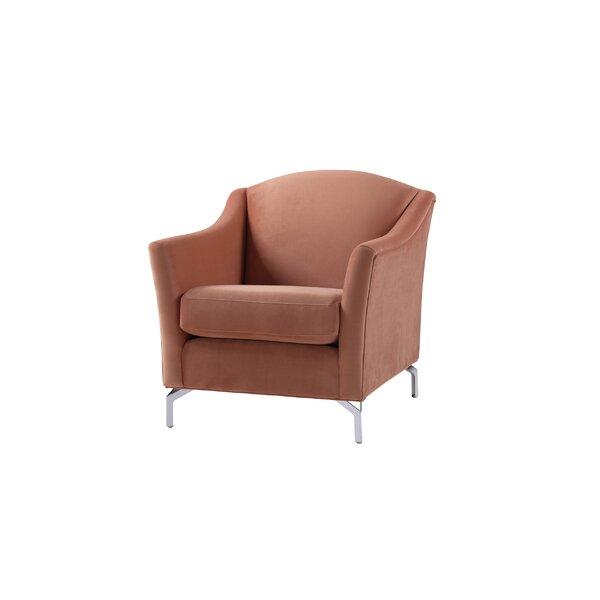 Alrai 23 inch Armchair by Everly Quinn