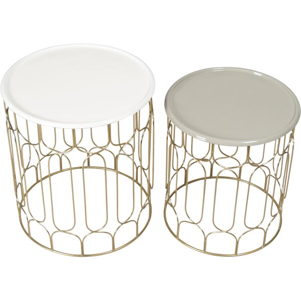 Stearns 2 Piece Nesting Tables by Brayden Studio