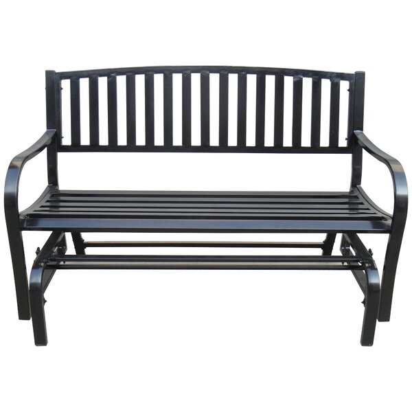 Ventnor Double Seaters Steel Glider Bench by Freeport Park