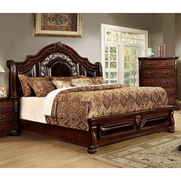 Flandreau Upholstered Panel Bed by A&J Homes Studio
