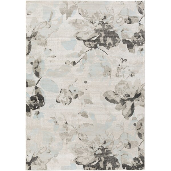 Cary Ivory/Gray Area Rug by Charlton Home