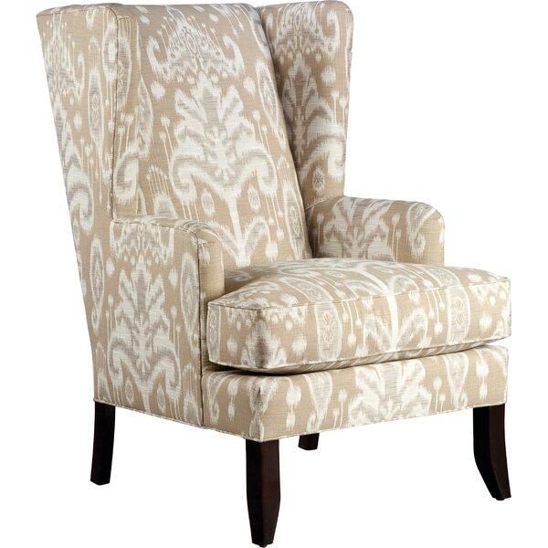 Johnson Wingback Chair by Fairfield Chair