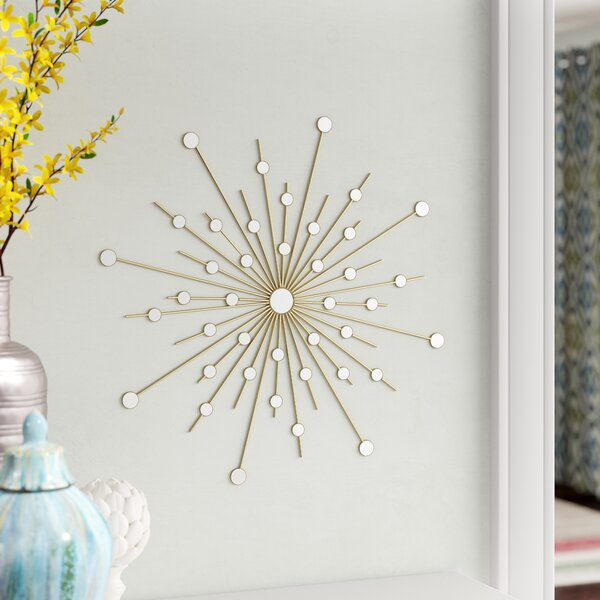 Fargnoli Sparkle Burst Accent Mirror by Ivy Bronx