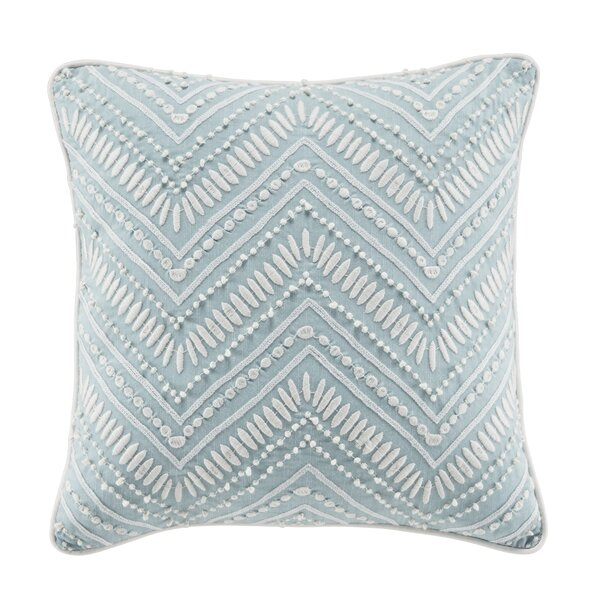 Willa Fashion Cotton Throw Pillow by Croscill Home Fashions