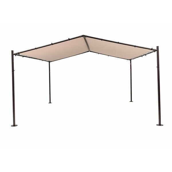Pavilion 13 Ft. W x 13 Ft. D Metal Pop-Up Canopy by SoraraOutdoorLiving