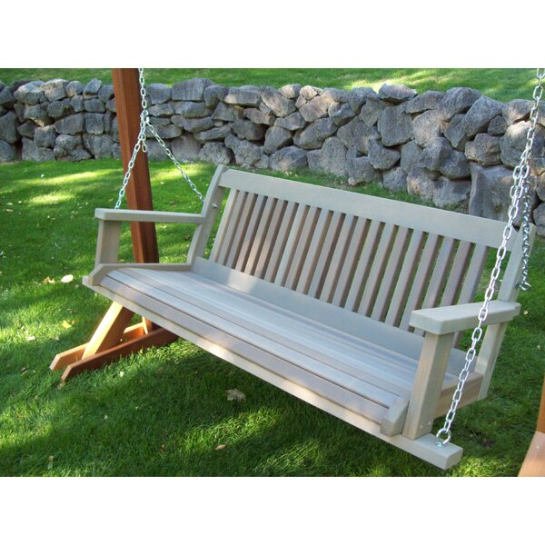 Carmelita Porch Swing by Highland Dunes