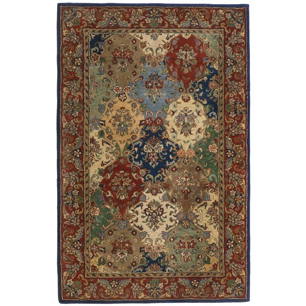 Traditions Baktarri Navy Multi Rug by St. Croix