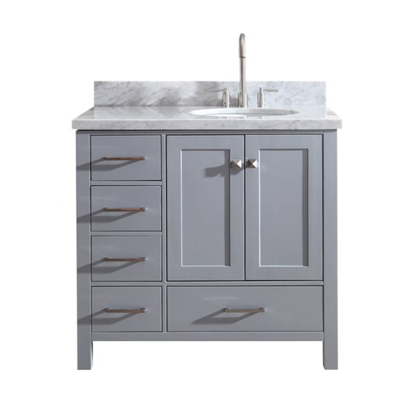 Utley 37 Single Bathroom Vanity Set by Andover Mil