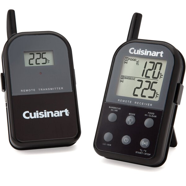 Dual Probe Digital Wireless Grill Thermometer by Cuisinart