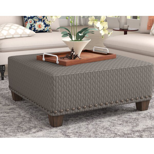 Oconee Cocktail Ottoman by Three Posts