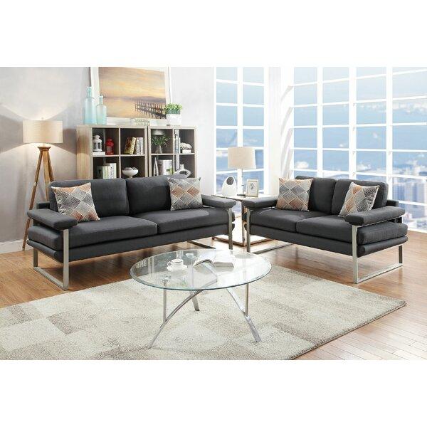 Bharti 2 Piece Living Room Set by Orren Ellis