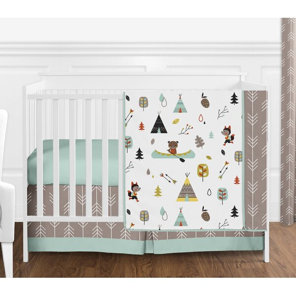Outdoor Adventure 4 Piece Crib Bedding Set by Sweet Jojo Designs