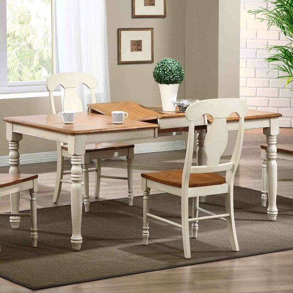Extendable Extendable Solid Wood Dining Table by Iconic Furniture