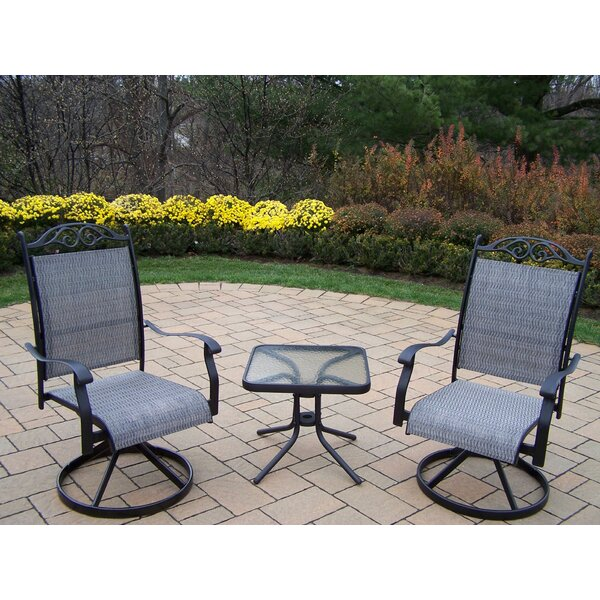 Basile 3 Piece Conversation Set Set by August Grove