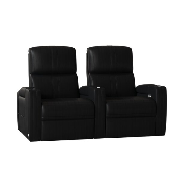 Flash HR Series Curved Home Theater Recliner (Row Of 2) By Winston Porter