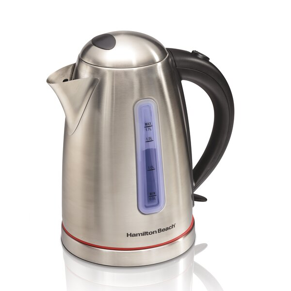 1.8-qt. Stainless Steel Electric Tea Kettle by Hamilton Beach