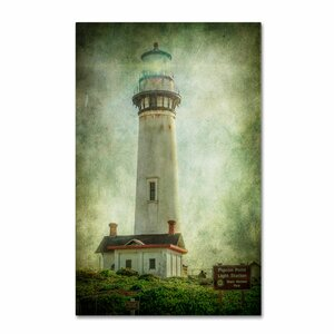 Pigeon Point Light Station by Erik Brede Photographic Print on Wrapped Canvas by Trademark Fine Art