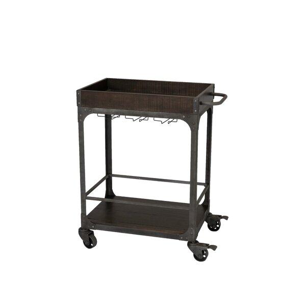 Burchett Server Bar Cart by Williston Forge Williston Forge