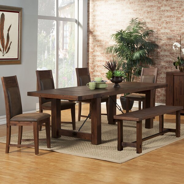 Piumafua 6 Piece Extendable Dining Set by Loon Peak