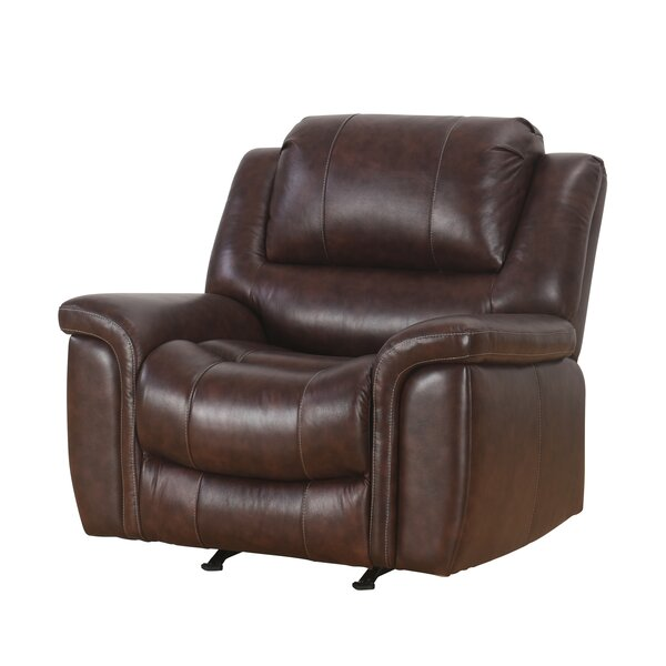 Blackmoor Leather Manual Recliner by Darby Home Co