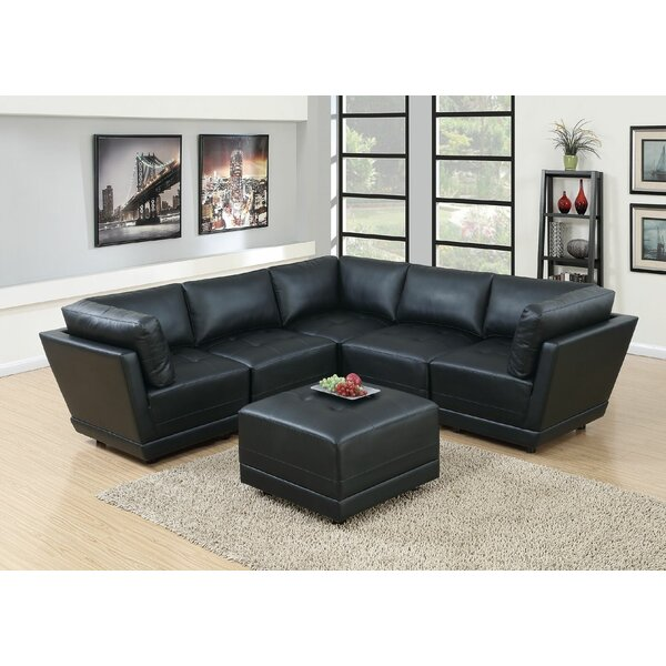 Review Williford Symmetrical Symmetrical Modular Sectional With Ottoman
