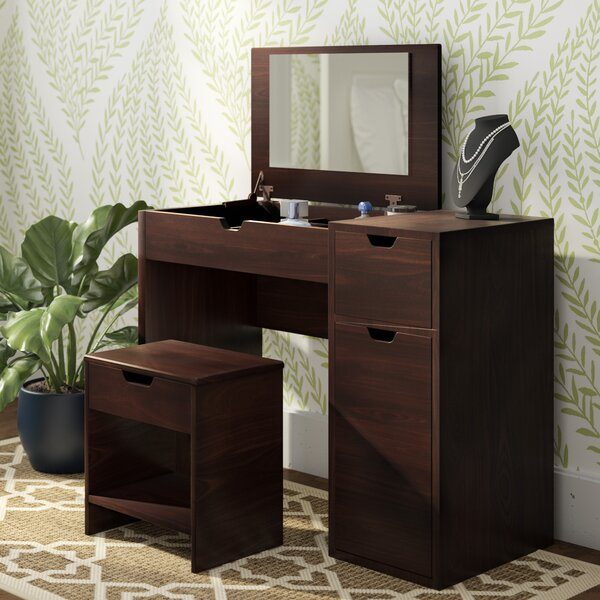 Kistner Vanity Set with Mirror by Zipcode Design