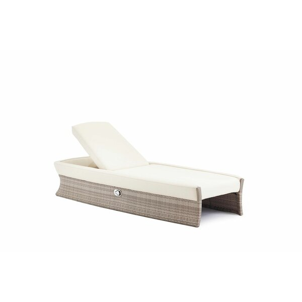Sheri Reclining Chaise Lounge with Cushion