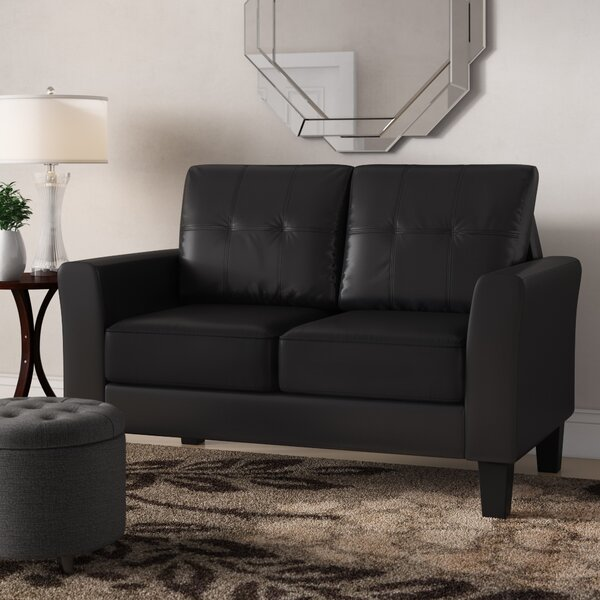 Althea Tufted Loveseat by Winston Porter